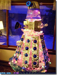 Dr. Who must save Christmas!