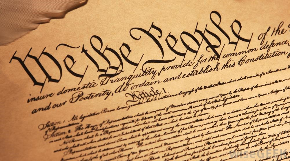Although today is Constitution Day, the Constitution has never been as ...